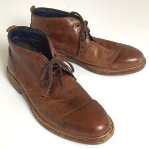 9 COLE HAAN MENS LEATHER BOOTS OXFORDS LACE SHOES